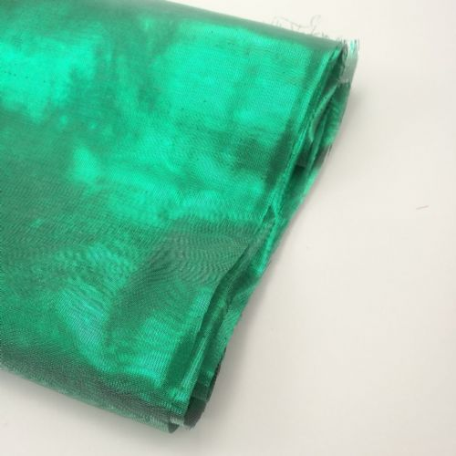 Metallic Shinny Green  Soft Fabric 54""
